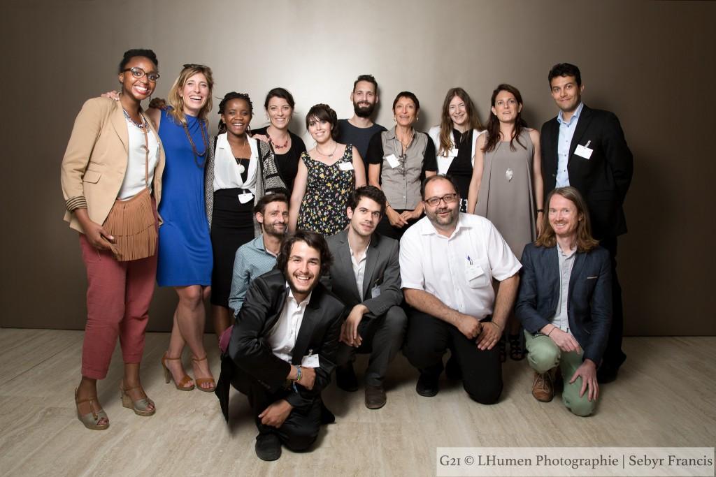 L'équipe NIceFuture au G21 Swisstainability 2015