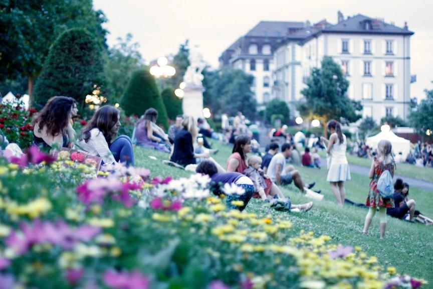 Le Festival de la Terre 2015 au Parc de Montbenon à Lausanne