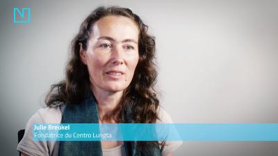 Julie Breukel, fondatrice du Centro Lungta